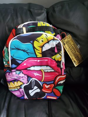 SPRAYGROUND LIP SERVICE BACKPACK LIMITED EDITION for Sale in Miami, FL