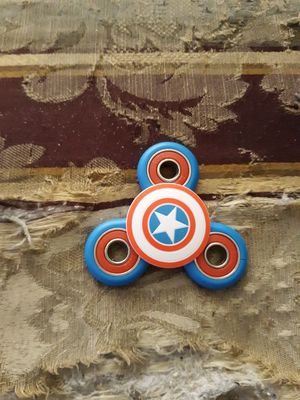 Blue And Red Captain America Fidget Spinner for Sale in Houston, TX