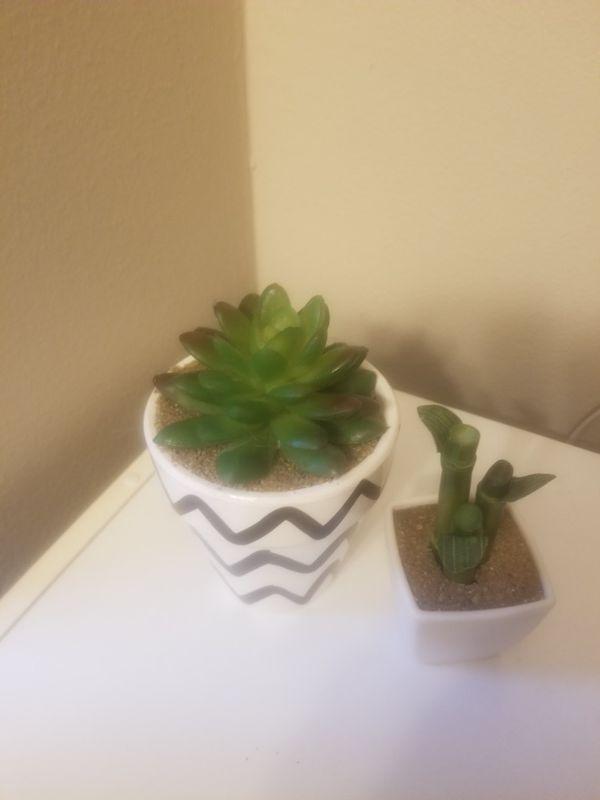 Faux Plant Set
