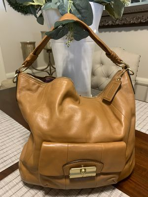 Coach leather handbag for Sale in Riverside, CA