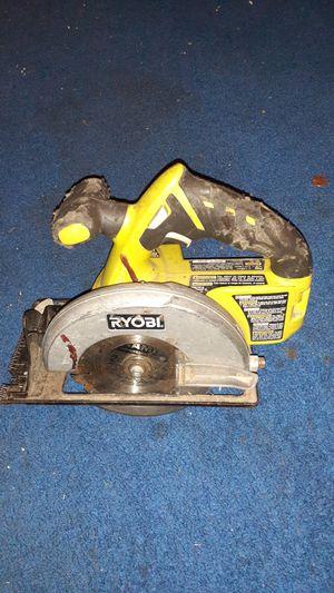 Ryobi circular saw for Sale in Modesto, CA