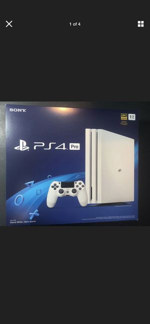 Ps4 pro white brand new for Sale in Midlothian, VA