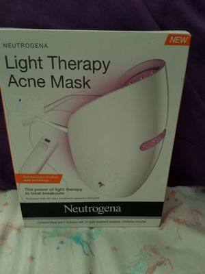 Neutrogena Red & Blue Light Therapy Acne Mask for Sale in Glendale, AZ