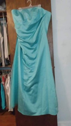 Blue David's Bridal dress for Sale in Lawrenceville, GA