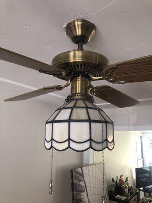 Brass Four Blade Ceiling Fan for Sale in San Diego, CA