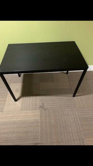 IKEA black table/ desk for Sale in West Covina, CA
