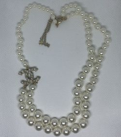 Stamped Pearl necklace for Sale in Baltimore,  MD