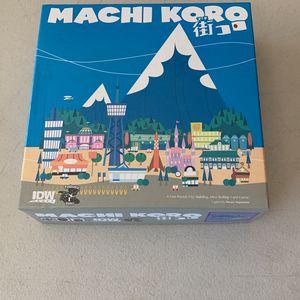 Machi Moro Board Game From IDW for Sale in Escondido, CA