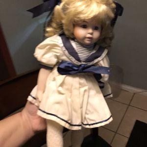 Vintage Porcelain Dolls Good Condition All For $100 for Sale in Plant City, FL