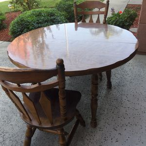 3 Pieces Dining Table Set for Sale in Fresno, CA