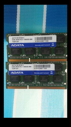 ADATA DDR3 Laptop Ram for Sale in Nashville, TN