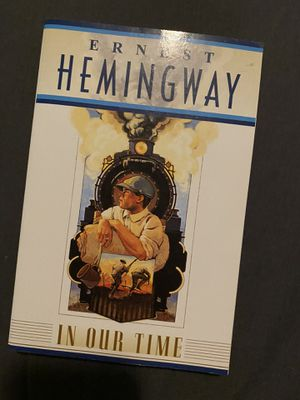 """Book """"In our town"""" by Ernest Hemingway for Sale in Palmdale, CA"""