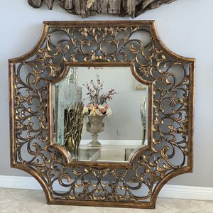 """54""""x54"""" very unique mirror,the color is bronze and gold , it would look gorgeous in any rooms in your house for Sale in Laguna Niguel, CA"""