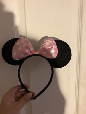 Party Minnie & Minnie Mouse ears for Sale in Riverbank, CA
