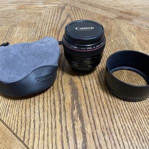 Canon EF 50mm f/1.2L USM Lens for Sale in Newmarket, NH