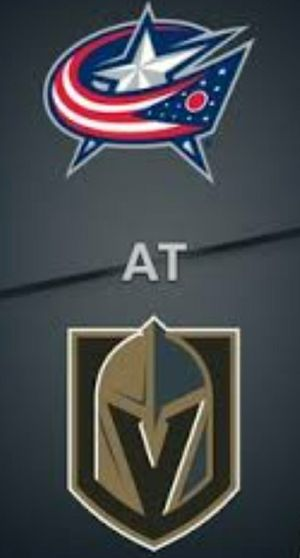 GOLDEN KNIGHTS VS. BLUE JACKETS for Sale in Las Vegas, NV