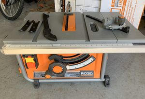 Ridgid 10in Table Saw for Sale in Duncanville, TX