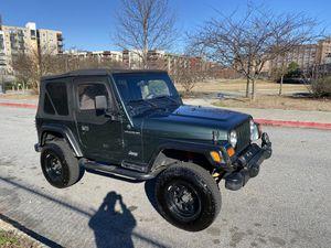 2002 Jeep Wrangler SE for Sale in Atlanta, GA