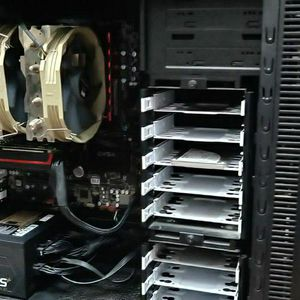 Gaming PC With Monitor Keyboard Mouse - i7 , Rx 480 for Sale in Brooklyn, NY