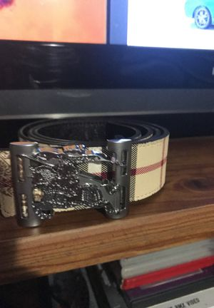 Burberry belt ( designer ) for Sale in Round Rock, TX