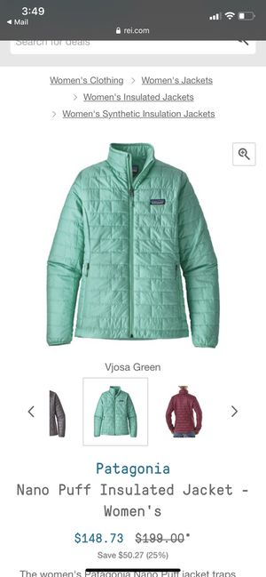 Patagonia woman's jacket for Sale in Sammamish, WA