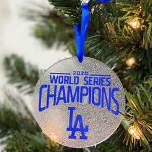 Los Angeles Dodgers World Series Champions Ornaments for Sale in Riverside, CA