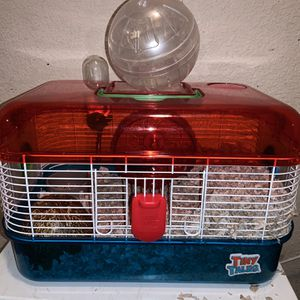 hamster cage and ball for Sale in Phoenix, AZ
