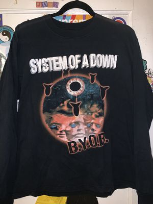 Vintage System Of A Down BYOB Tour Long Sleeve Shirt for Sale in Monrovia, CA