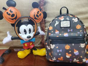 Loungefly Mickey Halloween Treats Mini Backpack and Earband for Sale in Kissimmee, FL