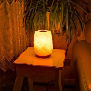 Aroma Himalayan Salt Lamp Stainless Steel Plate to Diffuse Essential for Sale in Pomona, CA