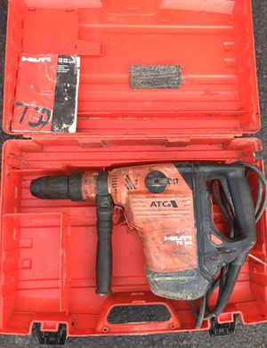 HILTI TE 60 ATC AVR Corded Electric Heavy Duty Rotary Hammer Drill with Case for Sale in Blue Bell, PA