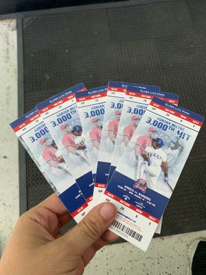 Rangers tickets for Sale in Irving, TX