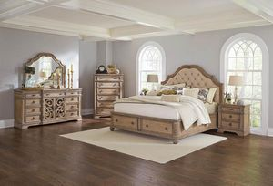 Six Piece Storage Bedroom Set. for Sale in Fairburn, GA