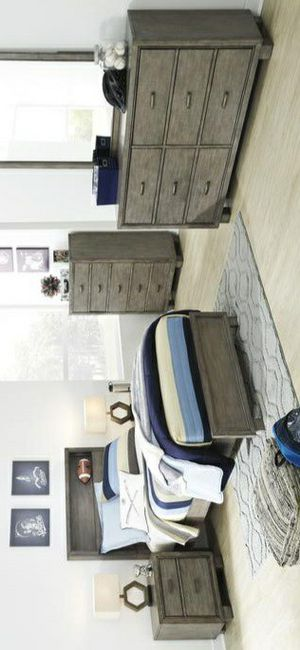 🍃good price🍃Arnett Gray Youth Bookcase Bedroom Set for Sale in Jessup, MD