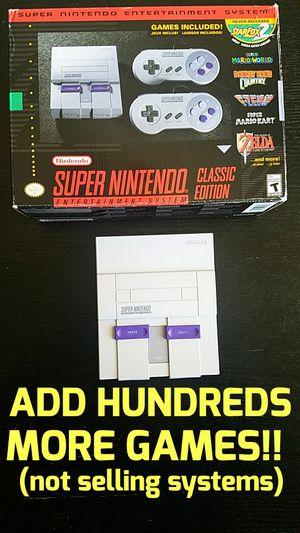 Super Nintendo NES Ps1 Classic Games for Sale in Las Vegas, NV