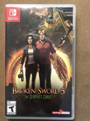 Nintendo Switch Game- Broken Sword 5 for Sale in Corona, CA