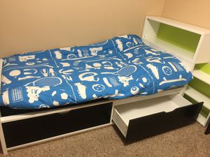 Kids bed and chair for Sale in Pine Springs, MN
