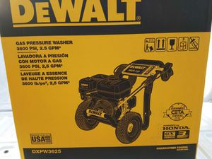 GAS PRESSURE WASHER DEWALT for Sale in Phoenix, AZ