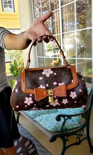 Authentic Louis Vuitton Monogram Cherry Blossom Sac Retro Bag for Sale in Murrieta, CA