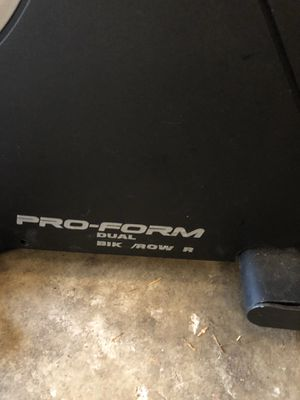 Pro-form dual row/bike for Sale in Bothell, WA