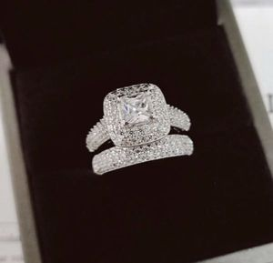 925 Sterling Silver Engagement/ Wedding Ring Size 9 for Sale in Conyers, GA