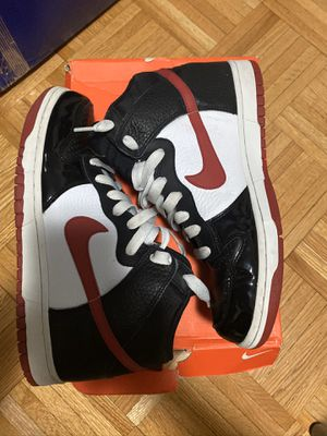 Nike Dunk High, Size 9.5 Black/Red/White for Sale in New York, NY