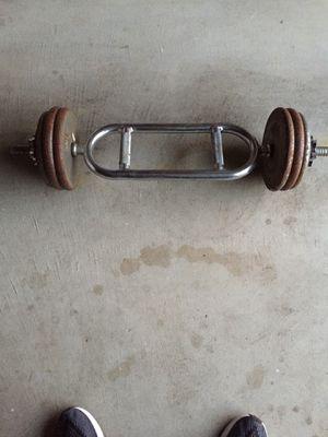 Triceps curl bar for Sale in Sicklerville, NJ