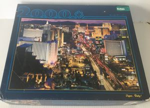 "2000 Pcs 38"" x 26"" Vegas Baby! BUFFALO Games Puzzle C1 for Sale in San Diego, CA"