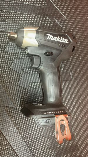 Makita 18-Volt LXT Lithium-Ion Sub-Compact Brushless Cordless 3/8 in. Sq. Drive Impact Wrench (Tool Only) for Sale in Lamont, CA
