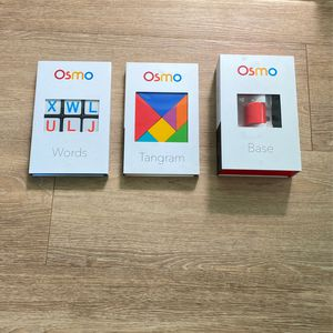 Osmo Base, Tangram, Words Kids Game for Sale in Sarasota, FL
