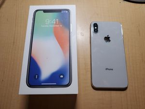iPhone X white 256 GB for Sale in Bellevue, WA
