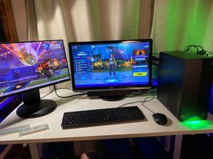 Gaming/Streaming PC - Ryzen 5 3500 6 core CPU, nVidia GTX 1650 Super, 16 GB DDR4 RAM, 1TB WD Blue SN550 NVME SSD for Sale in La Puente, CA