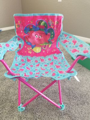 Brand new mini Trolls camping chairs. for Sale in Hesperia, CA