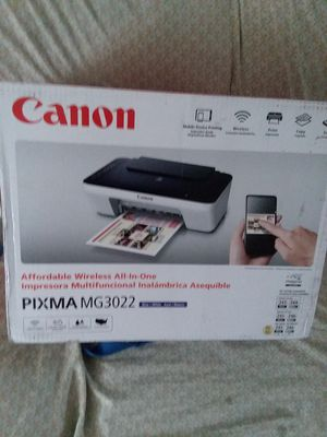 Canon pixma mg3022. for Sale in Duluth, MN